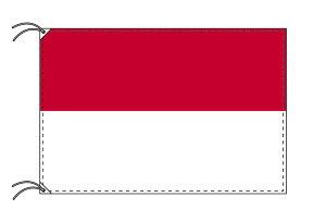 世界の国旗 モナコ・高級国旗セット【アルミ合金ポール・壁面取付部品付】【smtb-u】