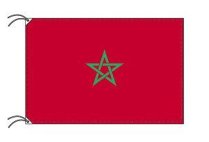 世界の国旗 モロッコ・高級国旗セット【アルミ合金ポール・壁面取付部品付】【smtb-u】