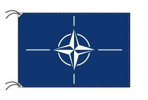 NATO[北大西洋条約機構]国旗・高級国旗セット【アルミ合金ポール・壁面取付部品付】【smtb-u】