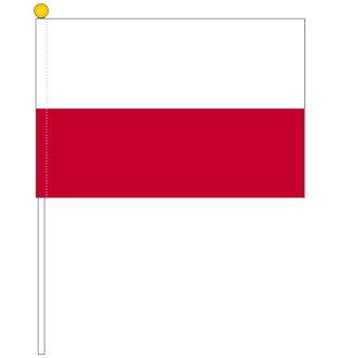 波蘭國旗[有保羅的手中的小旗、尺寸25*37.5cm]對應