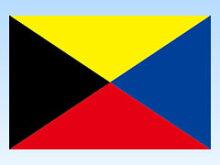 Z旗(木綿天竺・70×105cm)