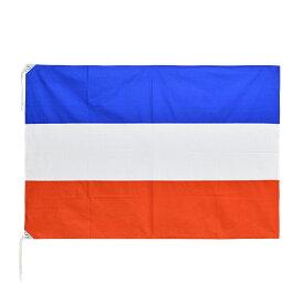 セルビア・モンテネグロ 国旗 (2003-2006年) 88×132cm 木綿製 日本製 旧国旗掘り出し物シリーズ
