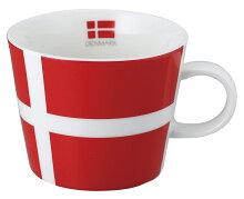 世界の国旗マグカップ[デンマーク]