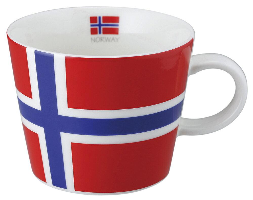 世界の国旗マグカップ[ノルウェー]ティーカップ コーヒーカップ