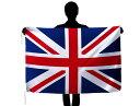 世界の国旗 イギリス国旗・英国旗ユニオンジャック[90×135cm・高級テトロン製]安心の日本製
