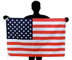 アメリカ国旗・USA・星条旗[70×105cm・ポリエステル100%]