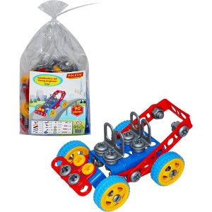【在庫処分】おもちゃ 工具セット 車(90pieces) POLESIE ポリシエ 男の子 知育玩具 子供 キッズ 小学生 室内 遊び 誕生日 女の子 節句 入園 クリスマス プレゼント