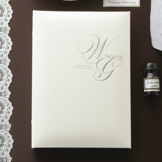 Paper out of wedding guest card (good reputation book) card type wedding ceremony reception desk レフィールカード