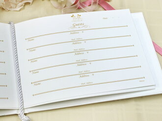 Guestbook disneymerletto additional refills [added] marriage refillable reception guest book sign book refill card paper