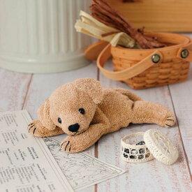 くたくたレトリバー(手作りキット) 手芸(オーガニック) ハマナカ コットン レトリバー 出産祝 ベビー ドッグ イヌ 犬 いぬ 出産