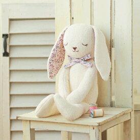 やわらか手触りのウサギ(手作りキット) 手芸(オーガニック) ハマナカ 赤ちゃん 人形 出産祝 コットン うさぎ 兎 ラビット