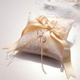リングピロー 手作りキット RP16 手芸キット Panami(パナミ) 結婚式 ハンドメイド ドラマティック レース リボン 縫製済み 指輪 リング きれい ゆうパケット 送料無料
