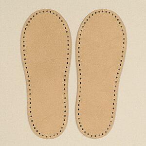 ルームシューズ用レザー底 手芸用品 ハマナカ 羊毛フェルト用ニードル 靴 ゆうパケット 送料無料
