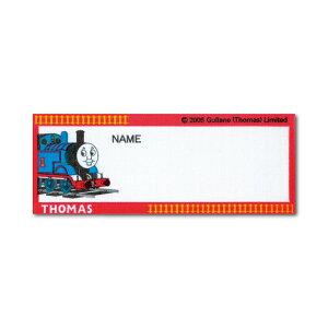 きかんしゃトーマス ネームラベル 3枚入 トーマス・赤枠線路柄 ヨコ N77 オリムパス 1枚:7.9×3cm ししゅう 名札 アイロン アップリケ 手芸用品 クラフト 子供 入学 入園 THOMAS ゆうパケット 送
