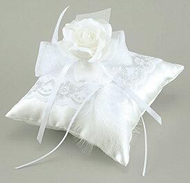エンジェル クッション羽根付きタイプリングピロー(手作りキット) 手芸 結婚式 挙式 教会式 人前式 指輪 プレゼント