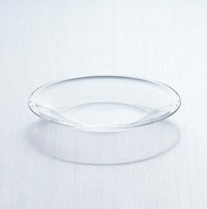 ニュープレーンプレート120(P-6213) 6個入り Z829-126皿 ガラス皿 おしゃれ 透明 飲食店 業務用 業務用食器