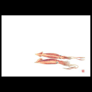 38cm上質紙マット 新活イカ Z102-175テーブルマット ランチョンマット 紙 紙製 ペーパー 業務用 和食 オールシーズン