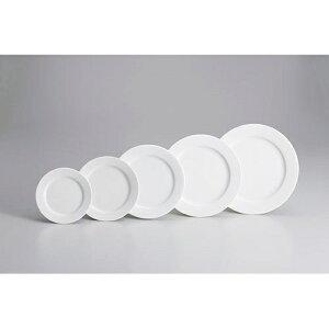 ホワイトポーセリンプレート 10インチ 6枚入り Z603-44お皿 食器 白い食器 白い皿 白いお皿 シンプル おしゃれ 白 ホワイト 業務用 業務用食器