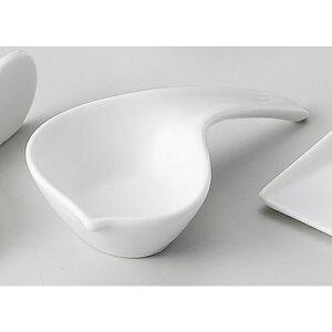 手変形珍味 Z611-139お皿 小鉢 食器 白い食器 白い皿 白いお皿 シンプル おしゃれ 白 ホワイト 業務用 業務用食器