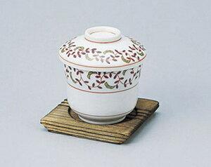 マユ型蒸碗 唐草 5個入 610-21001(Z626-130)むし椀 蒸し椀 茶碗蒸し 和食器 おしゃれ 業務用食器 業務用