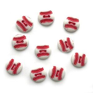 アメリカ ボタンガローア ボタン2穴S 10個 野球ボール