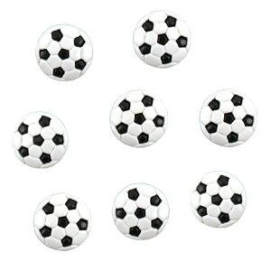 アメリカ ボタンガローア8個 サッカーボール