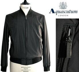 Aquascutum【アクアスキュータム】◆40%OFF◆定価77,000円(税込)スウィングトップ アウターブルゾン撥水加工 カーキグリーン