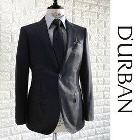 D'URBAN【ダーバン】日本製ウールジャケットダークグレー総裏仕立て