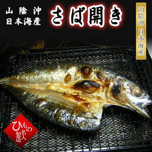 開きさば干物(単品) 山陰沖日本海産(鳥取県・島根県産)