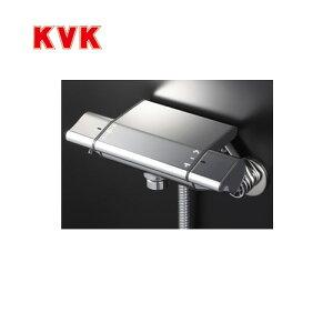[KF850S2]KVK 浴室水栓 シャワー水栓 サーモスタットシャワー金具(壁付きタイプ) ルメッキワンストップシャワーヘッド付 ニューハイメタルホース1.6m 洗い場専用水栓 逆止弁 快適節水シャワ