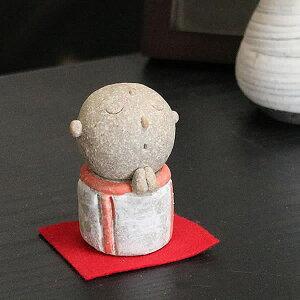 おじぞう様 地蔵 信楽焼 お地蔵さま お地蔵さん 陶器地蔵 手づくり地蔵さま 置き物 しがらきやき やきもの 地蔵菩薩 me-0008
