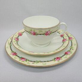 アンティーク トリオ カップ&ソーサー aynsley エインズレイ 1925-34年頃 ヴィンテージ 食器 陶磁器 キッチン雑貨 テーブルウェア ティ—セット 茶器