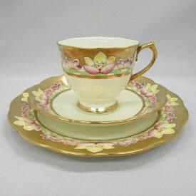 アンティーク トリオ ティーカップ&ソーサー Royal Albert ロイヤルアルバート 1927-1935年頃 ヴィンテージ 食器 陶磁器 キッチン雑貨 テーブルウェア ティ—セット 茶器