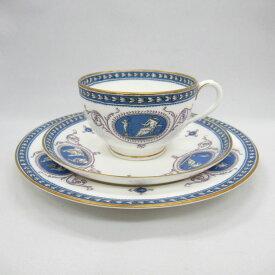 アンティーク トリオ ティーカップ&ソーサー Royal Worcester ロイヤルウースター No.696117 1922年頃 ヴィンテージ 食器 陶磁器 キッチン雑貨 テーブルウェア ティ—セット 茶器