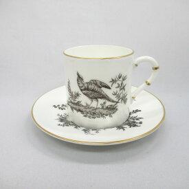 アンティーク デミカップ&ソーサー Royal Worcester ロイヤルウースター 1960-1980年頃 ヴィンテージ 食器 陶磁器 キッチン雑貨 テーブルウェア ティ—セット エスプレッソ 茶器