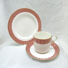 アンティーク トリオ カップ&ソーサー royal worcester ロイヤルウースター 1883年頃 ヴィンテージ 食器 陶磁器 キッチン雑貨 テーブルウェア ティ—セット 茶器