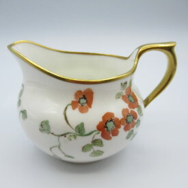 アンティーク食器 エインズレイ ミルクジャグ(クリーマー) 1891-1905年 花柄・ポピー 小さい