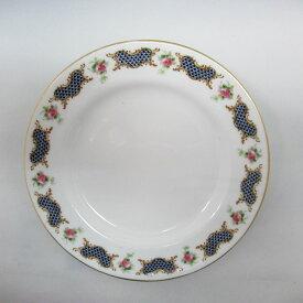 アンティーク食器 ロイヤルウースター 小皿・プレート 1924年マーク一部ハンドペイント(手描き)