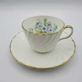 アンティーク カップ&ソーサー Aynsley エインズレイ 1939年頃 ヴィンテージ 食器 陶磁器 キッチン雑貨 テーブルウェア ティ—セット 茶器