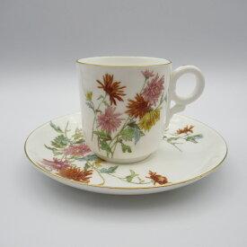 アンティーク カップ&ソーサー Royal Worcester ロイヤルウースター 1869年頃 ヴィンテージ 食器 陶磁器 キッチン雑貨 テーブルウェア ティ—セット 茶器