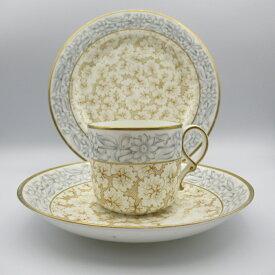 アンティーク トリオ ティーカップ&ソーサー Royal Worcester ロイヤルウースター Grainger's Worcester 1800-1902年頃 ヴィンテージ 食器 陶磁器 キッチン雑貨 テーブルウェア ティ—セット 茶器
