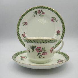 アンティーク トリオ カップ&ソーサー aynsley エインズレイ 1905-25年頃 ヴィンテージ 食器 陶磁器 キッチン雑貨 テーブルウェア ティ—セット 茶器 ant-18a055-3