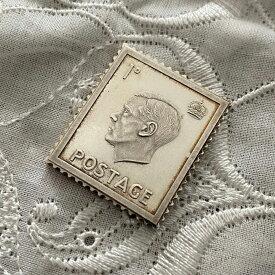 アンティーク 銀製 切手レプリカ エドワード8世 1936年 エリザベス女王 在位25周年記念 ヴィンテージ アニバーサリー メモリアルグッズ 英国王室 925シルバー スタンプ コレクション 25th メダル