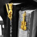 ブックマーカー しおり 栞 おしゃれ 金属 24金 ゴールドプレート レディース メンズ 女性 男性 ギフト プレゼント 贈…
