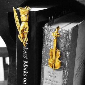 フランス製 しおり クラシック ブックマーク A 箱付き ブックマーカー 栞 おしゃれ 金属 24金 ゴールドプレート レディース メンズ 女性 男性 ギフト プレゼント 贈り物 入学 卒業 就職 お祝