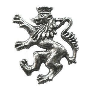 ピンブローチ ライオン 紋章 メール便OK ピンバッジ ラペルピン ピンズ メンズ レディース おしゃれ かっこいい おもしろい ユニーク スーツ 動物 獅子 ランパント イギリス イングランド 英
