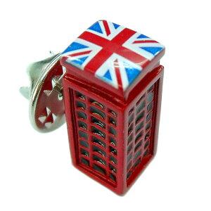 ピンブローチ 電話ボックス メール便OK ピンバッジ ラペルピン ピンズ メンズ レディース おしゃれ かっこいい おもしろい ユニーク スーツ 赤 テレフォンボックス ユニオンジャック イギリ