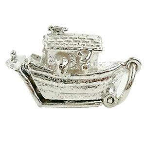 ノアの方舟 シルバー チャーム イギリス製 アクセサリー パーツ ネックレス ピアス ブレスレット 銀 925 かわいい ギフト プレゼント 贈り物 メール便OK