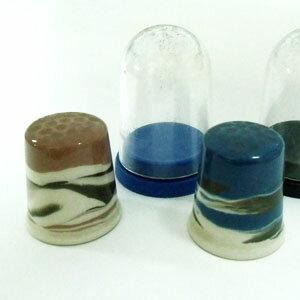 ヴィンテージ ソーイング 裁縫 アイテム インテリア 雑貨 かわいい 指貫 指ぬき アンティーク 陶製 シンブル マーブル