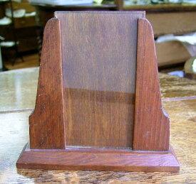 アンティーク フォトフレーム アールデコ ヴィンテージ 雑貨 インテリア 木製 ガラス 写真立て